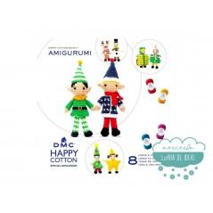 Mini libro Happy Cotton Book Nº7 Amigurumi (Navidad) - DMC