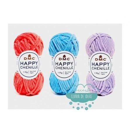 Hilo de terciopelo Happy Chenille (Especial Amigurumi) - DMC