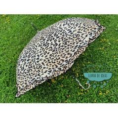Paraguas automático antiviento - Leopardo