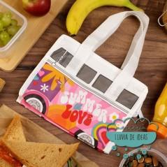 Bolsa Para el Almuerzo - Caravana Volkswagen VW T1 Camper Summer Love