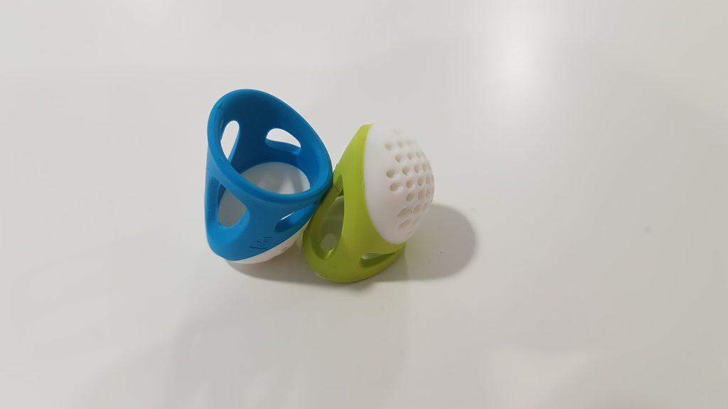 imagen en detalle del dedal de silicona Prym